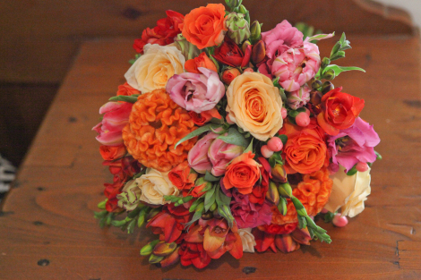 Pink and Orange Wedding Delight 2