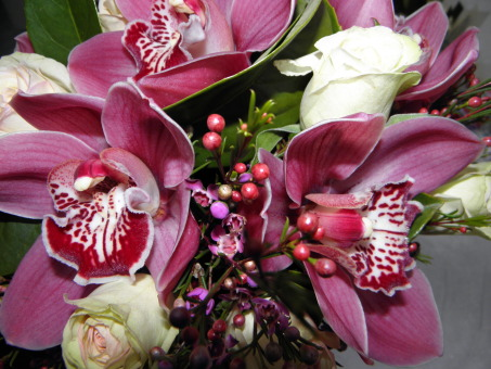 Wedding Cymbidium Bridal Bouquet
