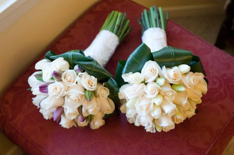 Kirsten Bride & Bridesmaid Bouquet