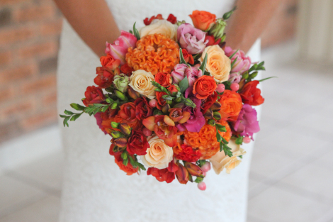 Pink and Orange Wedding Delight 4