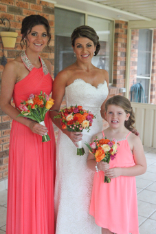 Pink and Orange Wedding Delight 3