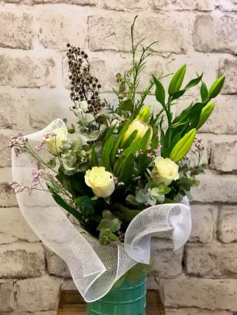 Touch of Love Vase Bouquet