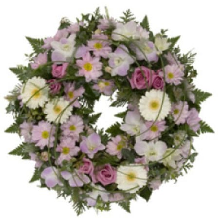 Sympathy Wreath Flower Arrangement, Delivery in Charlestown