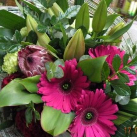 Gerbera & Lily Bouquet Charlestown