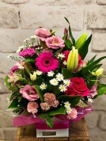 Jessica Pink Flower Arrangement