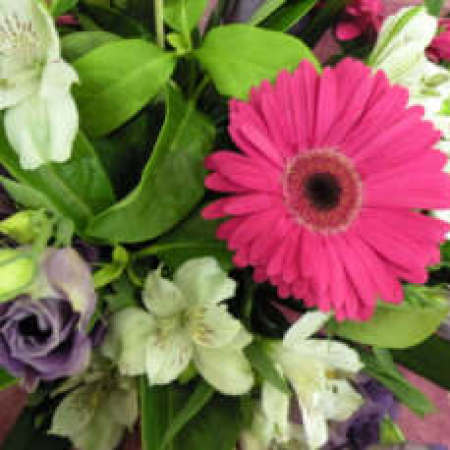 Gerbera & Lily Bouquet