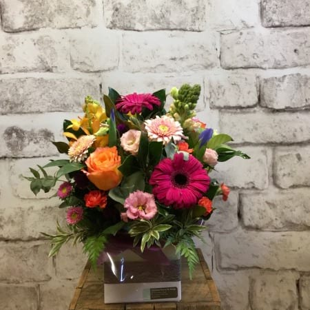 fresh flower arrangements