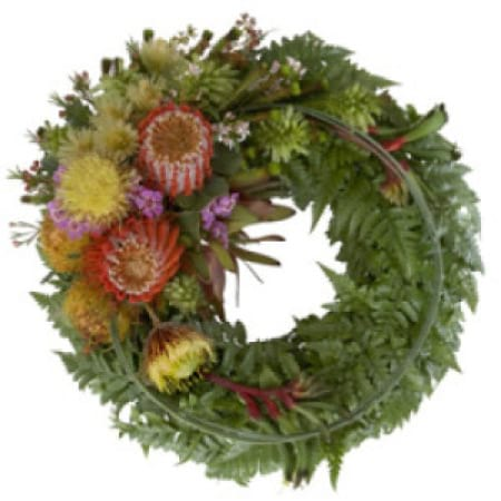 Native Wreath Arrangement