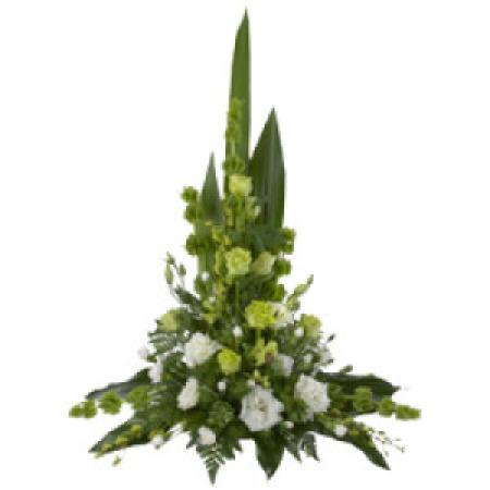 Sympathy Flower Bowl Arrangement