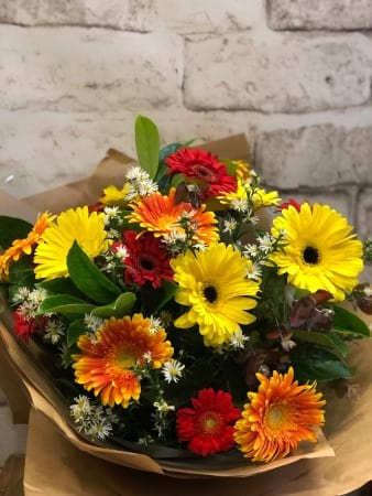 bright fresh Gerbera bouquet