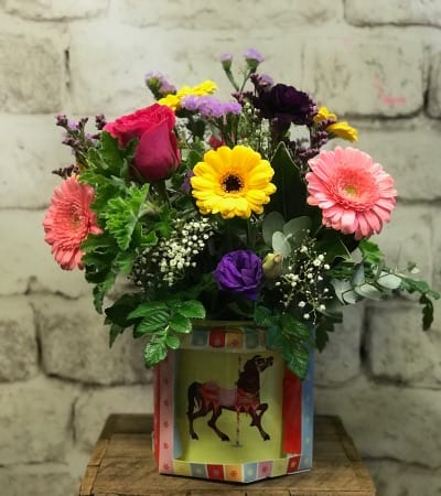 Flowers for a new baby in Keepsake