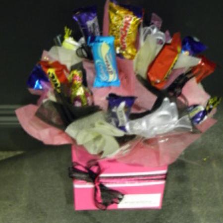Pink Chocolate arrangement