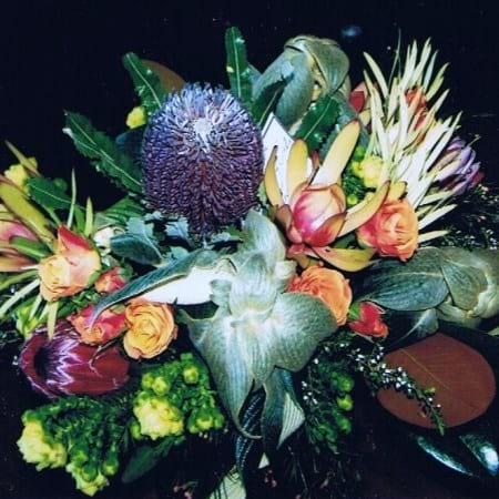 Flower Bouquet, Natives & Roses