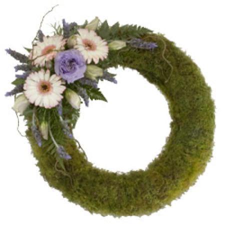 Moss Wreath Arrangement