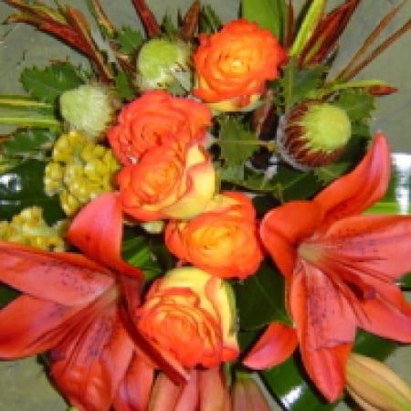 Autumn Days Flower Bouquet