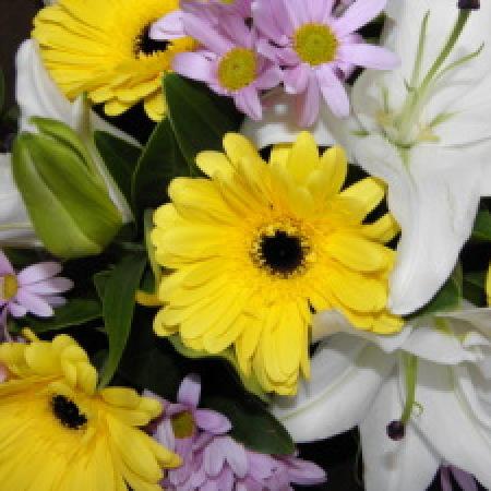 Lily & Gerbera Bouquet