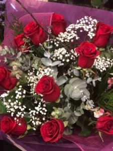 Columbian Red Rose Bouquet