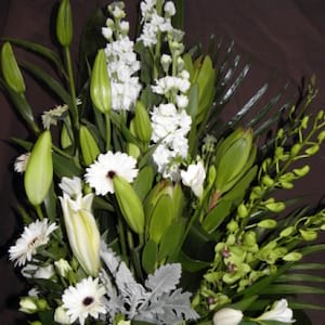 Wonderous White Arrangement