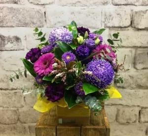 Purple Sunset Arrangement