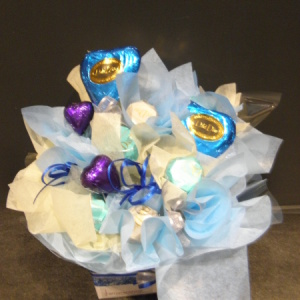 Gourmet Chocolate Box In Blue