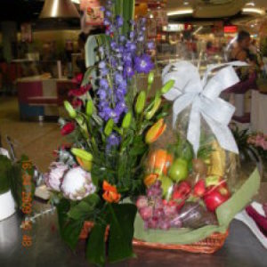Fruit Flower Basket