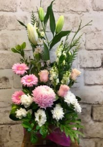 Sweet Pastel Tall Arrangement
