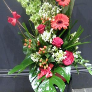 Christmas Garden Arrangement