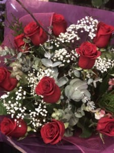 Columbian Red Rose Dozen