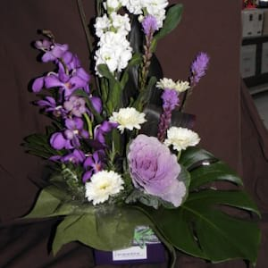 Purple Splendor Arrangement