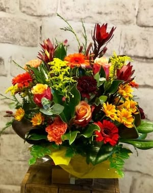 Orange Blossom Arrangement