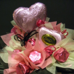 Gourmet Chocolate Box in pink