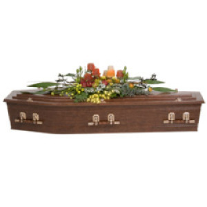 Native Casket Cover Funeral